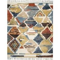 Safavieh Kenya Hand-Knotted Multi Wool Area Rug - 8' x 10'