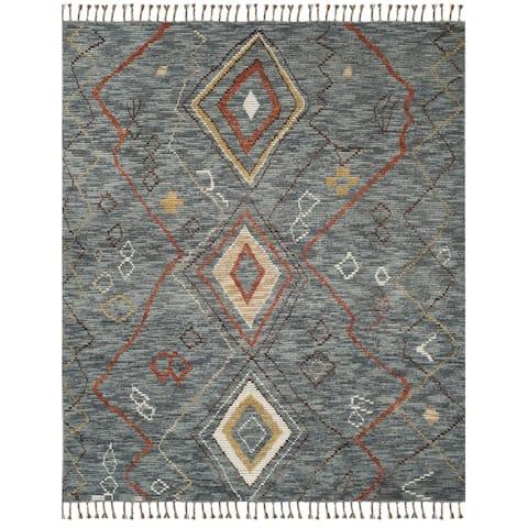 Safavieh Hand-knotted Kenya Madilynn Southwestern Tribal Wool Rug
