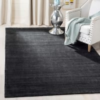 Safavieh Handmade Mirage Tonal Charcoal Grey Silky Viscose Area Rug - 8' x 10'