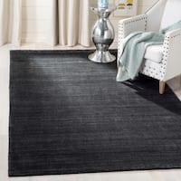 Safavieh Handmade Mirage Tonal Charcoal Grey Silky Viscose Area Rug (9' x 12')