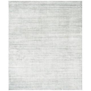 Safavieh Handmade Mirage Tonal Grey Viscose Area Rug (8' x 10')