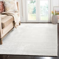 Safavieh Handmade Mirage Tonal Grey Viscose Area Rug - 9' x 12'