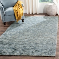Safavieh Natura Hand-Tufted Blue Wool Area Rug - 9' x 12'