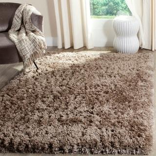 Safavieh Polar Shag Brown Polyester Area Rug (10' x 14')