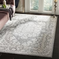 Safavieh Paradise Grey Multi Viscose Rug 7 6 X 10 6