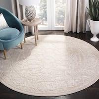 Safavieh Reflection Beige/ Cream Polyester Area Rug - 8' x 10'