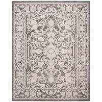 Safavieh Reflection Grey/ Cream Polyester Area Rug - 8' x 10'