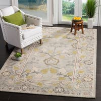 Safavieh Roslyn Hand-Tufted Grey/ Multi Wool Area Rug - 8' x 10'