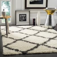 Safavieh Dallas Shag Ivory/ Grey Area Rug (10' x 14')