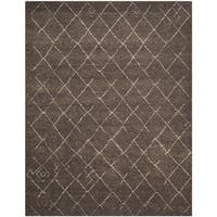 Safavieh Tunisia Dark Brown Area Rug (10' x 14')