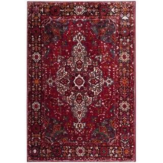 Safavieh Vintage Hamadan Red/ Multi Area Rug (9' x 12')