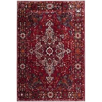 Safavieh Vintage Hamadan Red/ Multi Area Rug - 9' x 12' - 9' X 12'