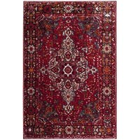 Safavieh Vintage Hamadan Red/ Multi Area Rug - 9' x 12'