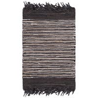 Safavieh Vintage Leather Hand-Woven Brown/ Multi Accent Area Rug - 2' x 3'