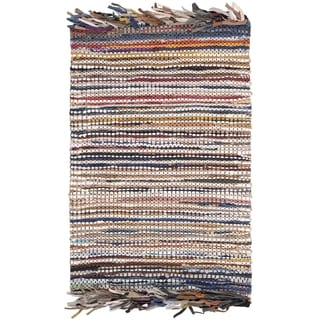 Safavieh Vintage Leather Hand-Woven Multi Accent Area Rug (2' x 3')