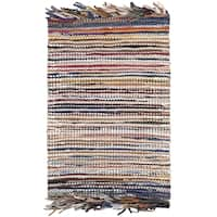 Safavieh Vintage Leather Hand-Woven Multi Accent Area Rug - 2' X 3'