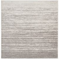 Safavieh Adirondack Vintage Ombre Light Grey / Grey Rug - 6' Square