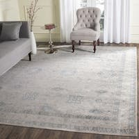 Safavieh Archive Vintage Grey/ Blue Distressed Area Rug - 5' Square