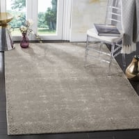 Safavieh Dip Dye Hand-Tufted Beige Wool Area Rug (7' Square)