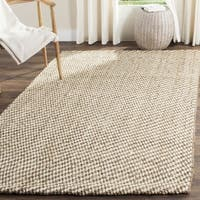 Safavieh Natural Fiber Coastal Hand-Woven Natural Jute Area Rug - 6' x 6' Square