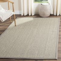 Safavieh Natural Fiber Coastal Grey Sisal Area Rug - 6' Square