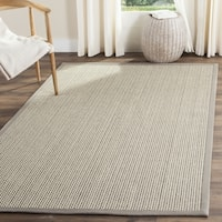 Safavieh Natural Fiber Coastal Grey Sisal Area Rug - 6' x 6' Square