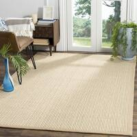 Safavieh Natural Fiber Coastal Beige Sisal Area Rug - 6' Square