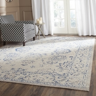 Safavieh Patina Grey / Blue Area Rug (4' Square)
