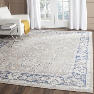 Safavieh Patina Taupe / Blue Area Rug (4' Square)