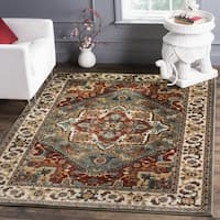 "Safavieh Summit Grey/ Ivory Area Rug - 6'7"" x 6'7"" square"