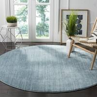 Safavieh Vision Blue Area Rug - 5' x 5' round