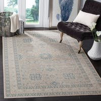 Safavieh Archive Vintage Grey/ Blue Distressed Runner Rug (2' 2 x 6')