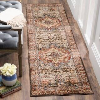 safavieh bijar traditional oriental brown red distressed runner rug 2u0027 3 x 12