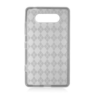 Insten Clear TPU Rubber Candy Skin Case Cover For Nokia Lumia 820