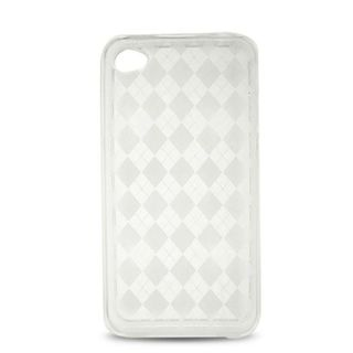 Insten Clear TPU Rubber Candy Skin Case Cover For Apple iPhone 4