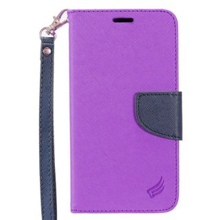 Insten Leatheretteette Case Cover Lanyard with Stand/ Wallet Flap Pouch For Samsung Galaxy S7 Active