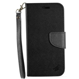 Insten Leatheretteette Case Cover Lanyard with Stand/ Wallet Flap Pouch For Samsung Galaxy J7 (2016)