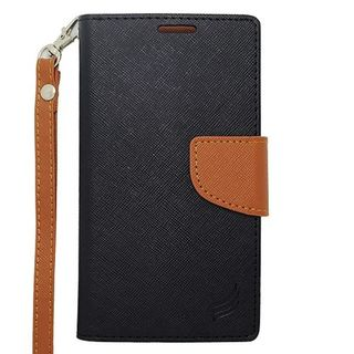 Insten Leatheretteette Case Cover Lanyard with Wallet Flap Pouch