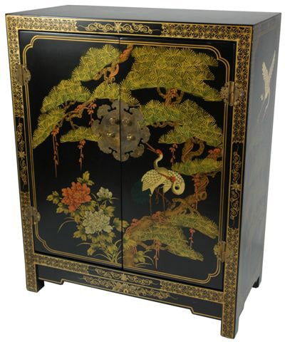 black lacquered furniture. handmade wood black lacquer cabinet china lacquered furniture c