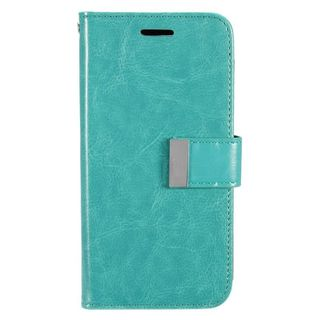 Insten Mint Green Leatheretteette Case Cover with Wallet Flap Pouch For Samsung Galaxy S7 Edge