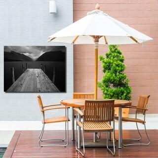 Ready2HangArt Indoor/Outdoor Wall Décor 'The Lake' in ArtPlexi - Grey