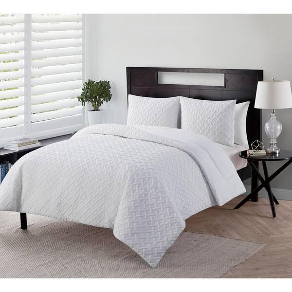 Shop VCNY Home Nina 2 Embossed Comforter Set - Free Shipping ... Names Nina Comforter Home Designs on