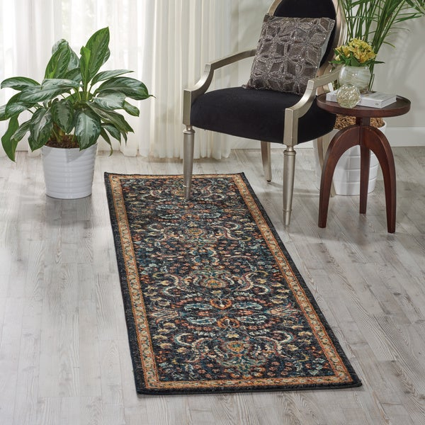 Nourison Nourison 2020 Night Fall Runner Rug (2'3 x 11') - 2'3 x 11'