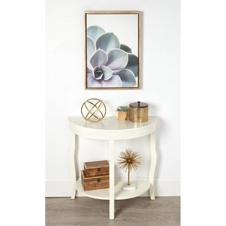 Sylvie Succulent Gold Framed Canvas Wall Art by F2 Images