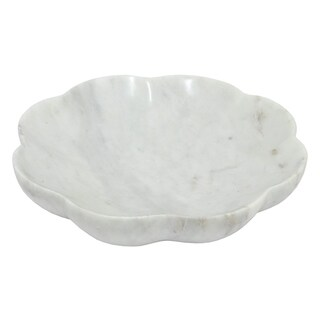 THREE HANDS MARBLE AND MARBLE BOWL