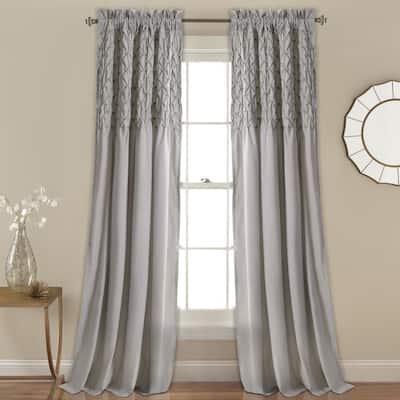 The Gray Barn Sunset Hollow Window Curtain Panel Pair