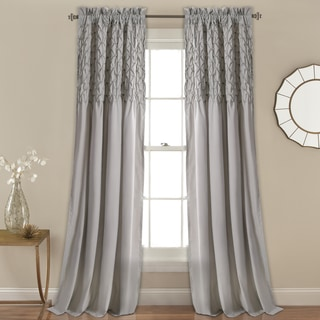 Lush Decor Bayview Window Curtain Panel Pair