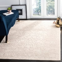 "Safavieh Reflection Beige/ Cream Polyester Area Rug (5' 1 x 7' 6) - 5'-1"" x 7'-6"""