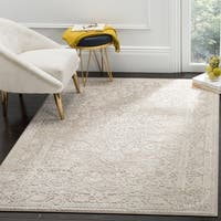 "Safavieh Reflection Beige/ Cream Polyester Area Rug - 5'1"" x 7'6"""