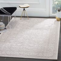 Safavieh Reflection Beige/ Cream Polyester Area Rug - 5' 1 x 7' 6